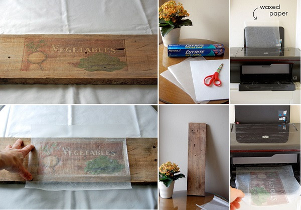 Best ideas about Prints On Wood DIY . Save or Pin DIY How to Print on Wood Now.
