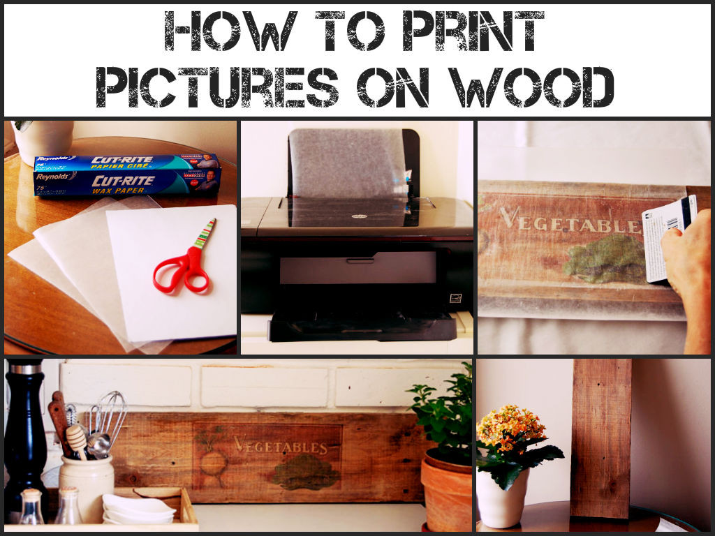 Best ideas about Prints On Wood DIY . Save or Pin How To Print Wood Now.