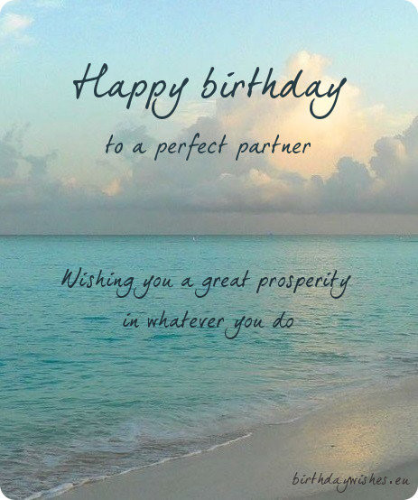 Best ideas about Professional Birthday Wishes . Save or Pin Top 20 Professional Birthday Wishes For Business Partner Now.