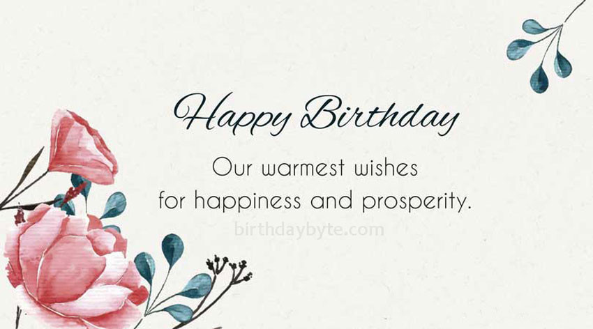 Best ideas about Professional Birthday Wishes . Save or Pin Birthday Wishes For Clients Best Birthday Greetings Now.