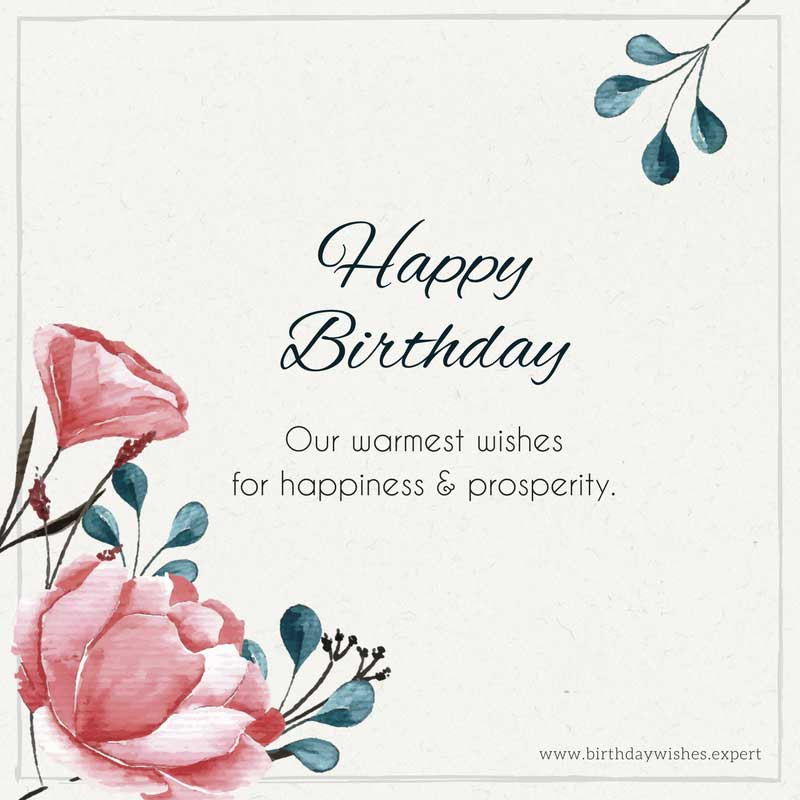 Best ideas about Professional Birthday Wishes . Save or Pin Birthday Wishes for your Clients to Show Them you Care Now.