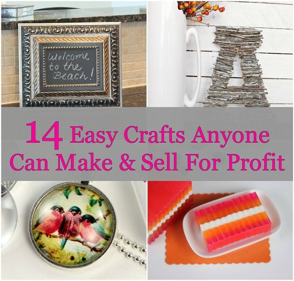 Best ideas about Profitable Craft Ideas . Save or Pin 14 Easy Crafts Anyone Can Make & Sell For Profit Now.