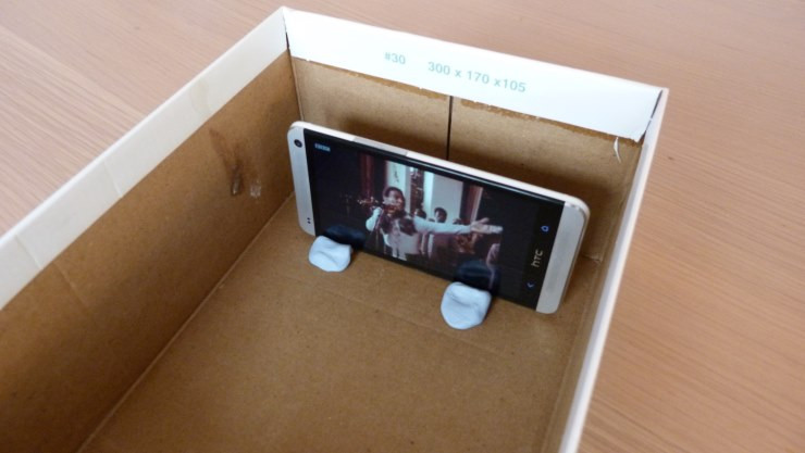 Best ideas about Projector Stand DIY . Save or Pin Build a Smartphone Projector From An Old Shoebox Now.