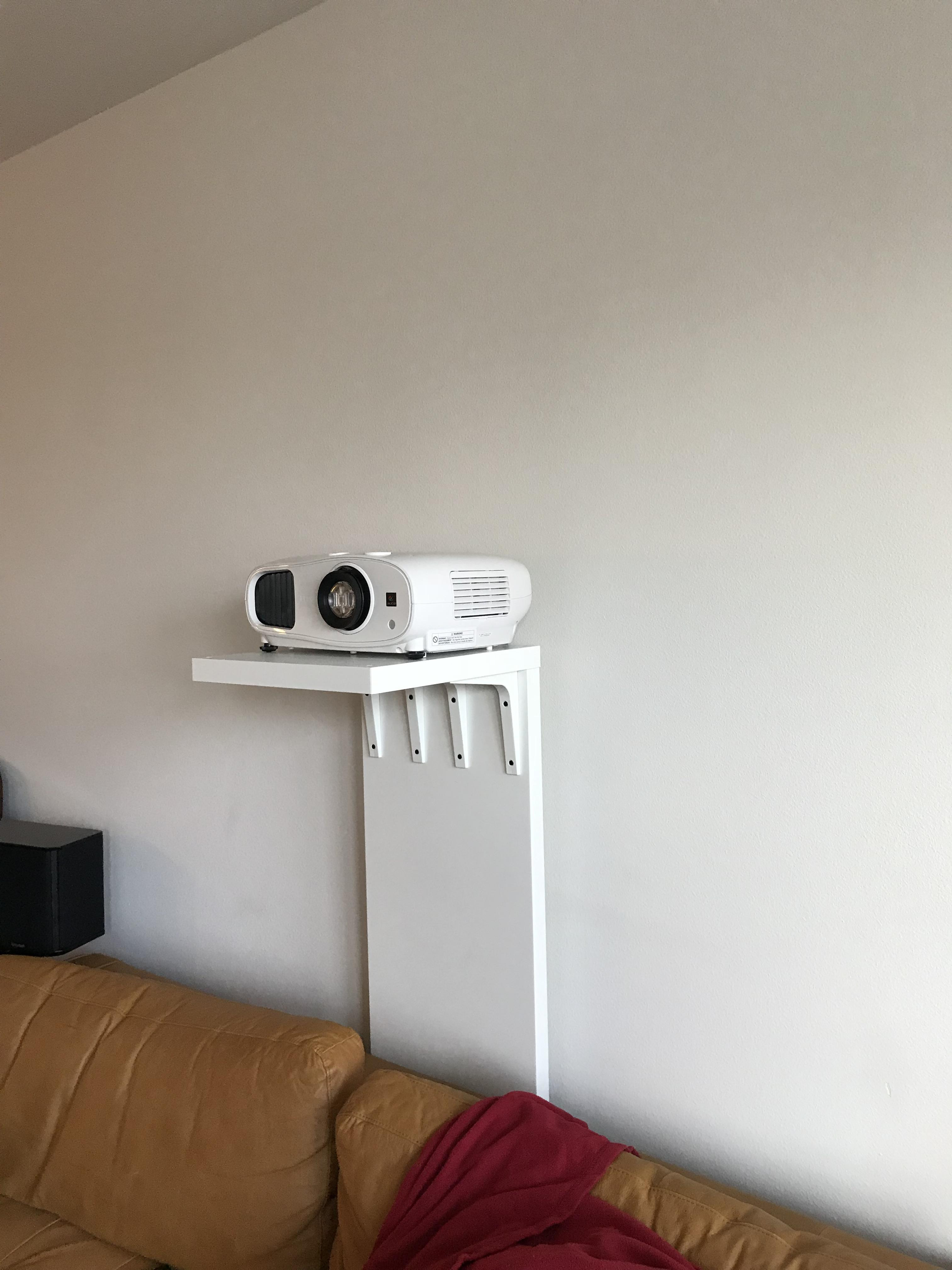 Best ideas about Projector Stand DIY . Save or Pin DiY Projector Stand IKEA projectors Now.