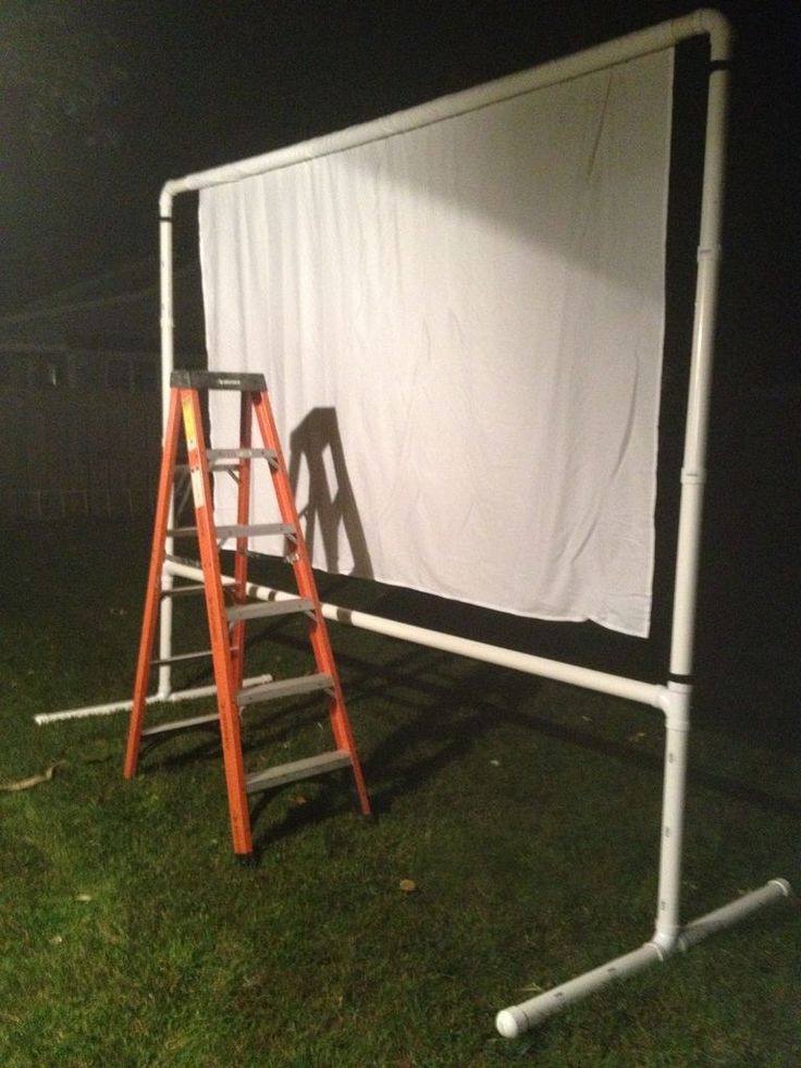 Best ideas about Projector Stand DIY . Save or Pin Best 25 Outdoor movie screen ideas on Pinterest Now.