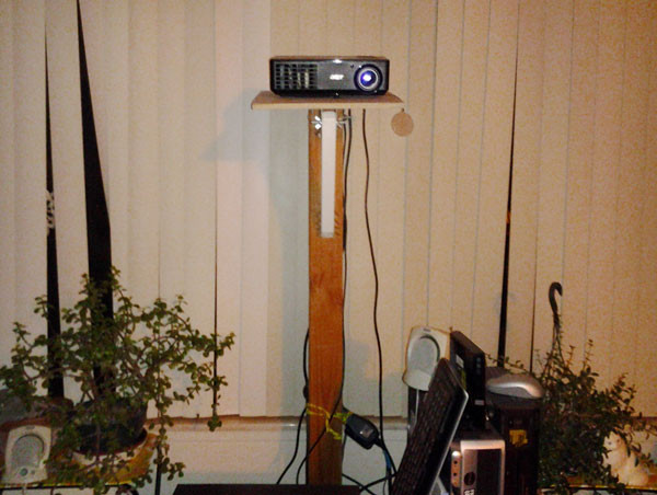Best ideas about Projector Stand DIY . Save or Pin Projector Stand Now.