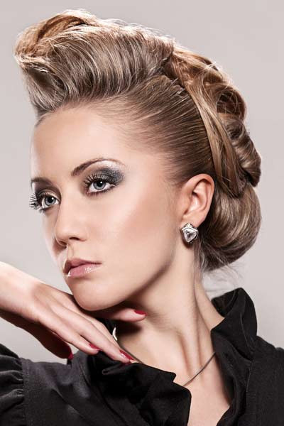 Best ideas about Prom Bun Hairstyles . Save or Pin Hairstyles For Women 2015 Hairstyle Stars Now.