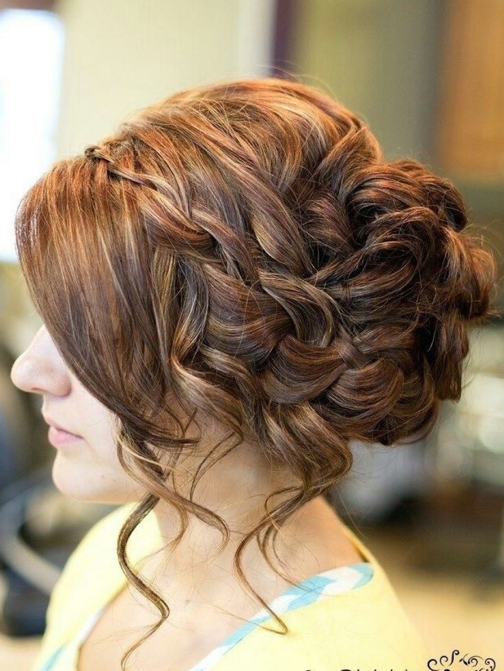 Best ideas about Prom Bun Hairstyles . Save or Pin 14 Prom Hairstyles for Long Hair that are Simply Adorable Now.