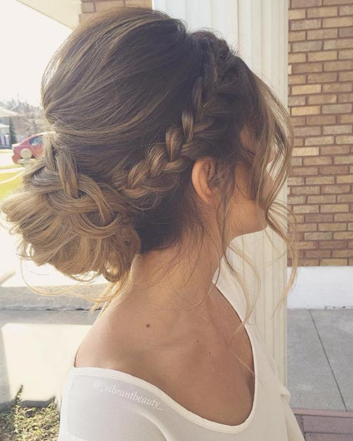 Best ideas about Prom Bun Hairstyles . Save or Pin 27 Gorgeous Prom Hairstyles for Long Hair Now.