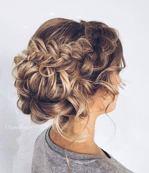 Best ideas about Prom Bun Hairstyles . Save or Pin 31 Most Beautiful Updos for Prom Now.
