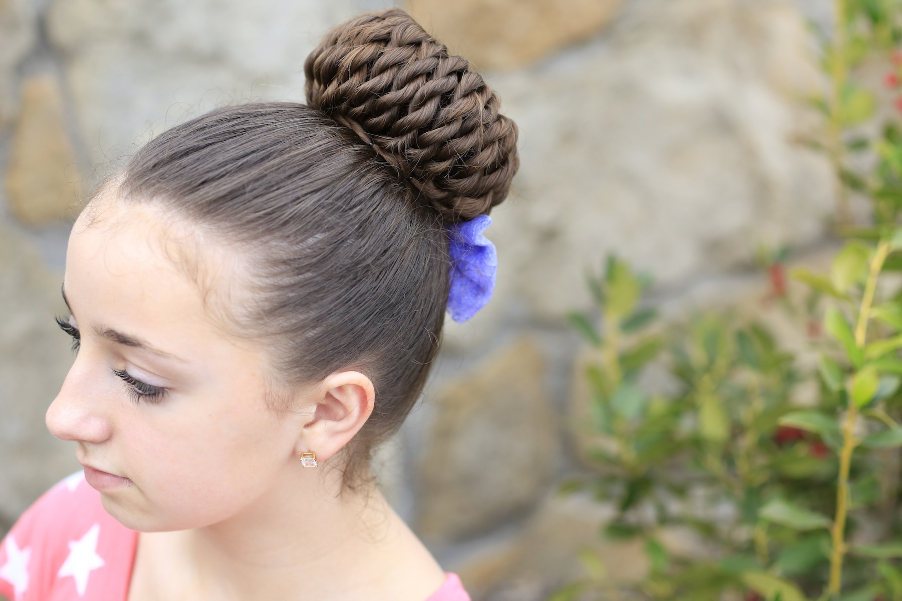 Best ideas about Prom Bun Hairstyles . Save or Pin Rope Twist Pinwheel Bun Prom Hairstyles Now.