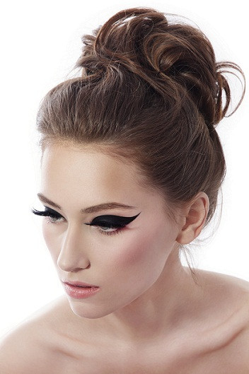 Best ideas about Prom Bun Hairstyles . Save or Pin Top 9 Bun Hairstyles for Prom Now.