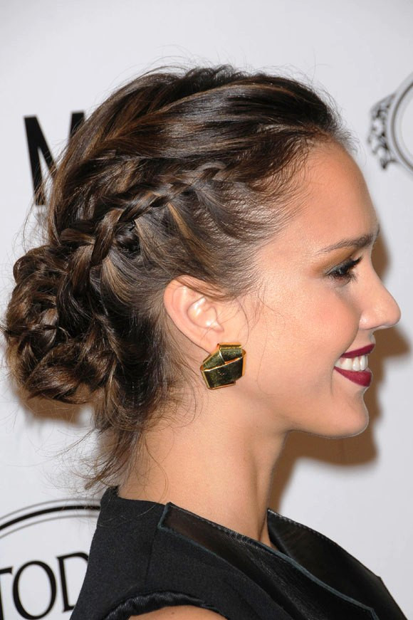 Best ideas about Prom Bun Hairstyles . Save or Pin 65 Prom Hairstyles That plement Your Beauty Fave Now.