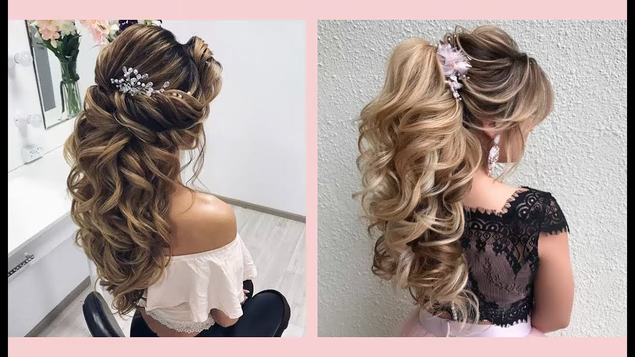 Best ideas about Prom Hairstyle Curly . Save or Pin Curly Prom Hairstyles for Medium Long Hair Curly or Now.