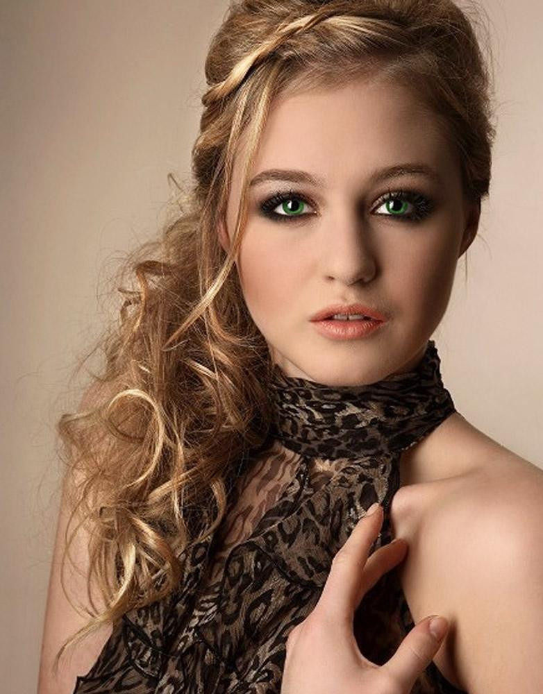 Best ideas about Prom Hairstyle Curly . Save or Pin kafgallery prom hair 2012 braids Now.