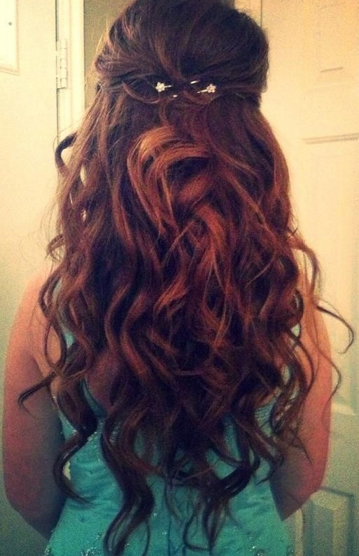 Best ideas about Prom Hairstyle Curly . Save or Pin 15 Best Long Wavy Hairstyles PoPular Haircuts Now.