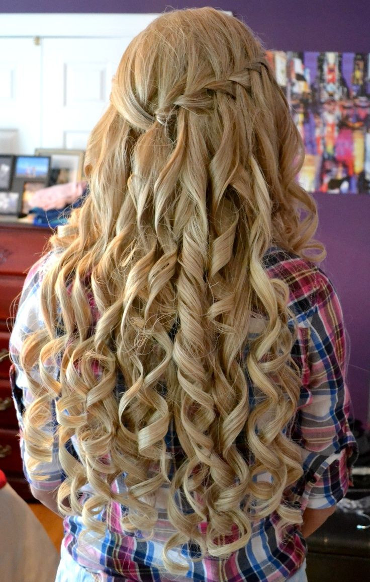 Best ideas about Prom Hairstyle Curly . Save or Pin Most Adorable Curly Home ing Hairstyles Fave HairStyles Now.