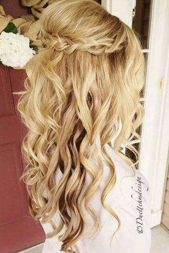 Best ideas about Prom Hairstyle Half Updos . Save or Pin Try 42 Half Up Half Down Prom Hairstyles Now.