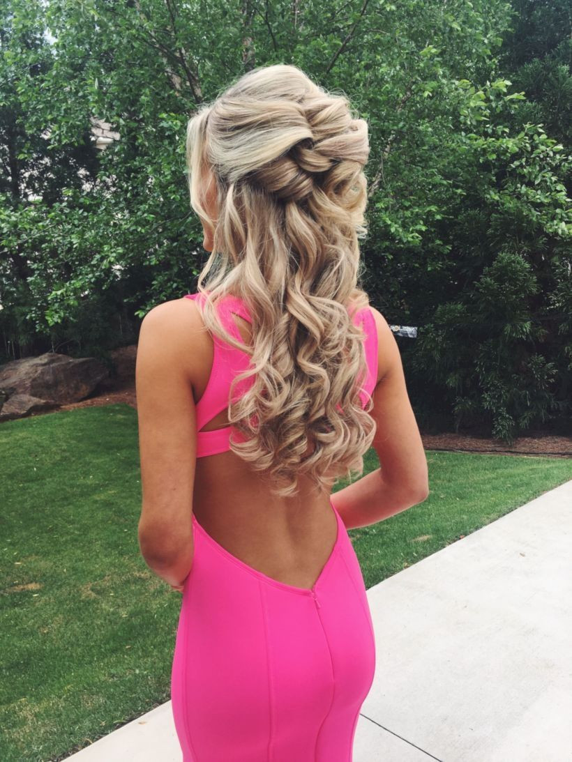 Best ideas about Prom Hairstyles 2019 . Save or Pin Pin by Vattire on Hairstyles in 2019 Now.