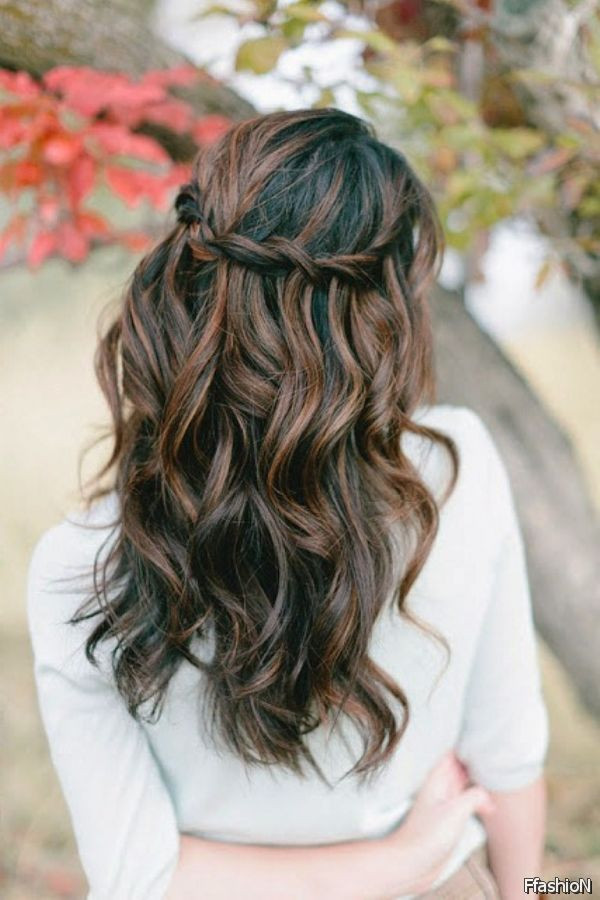 Best ideas about Prom Hairstyles Curly Down . Save or Pin Prom Hairstyles Half Up Half Down With Bangs 2016 2017 Now.
