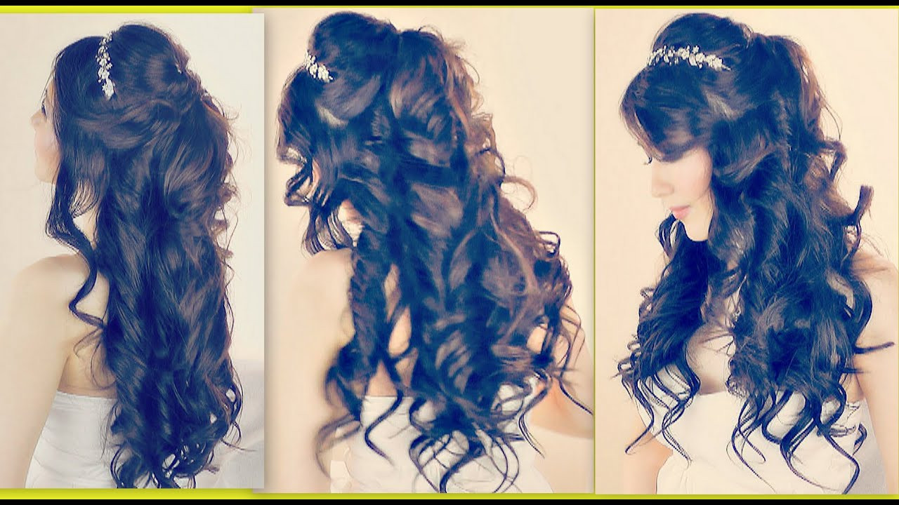 Best ideas about Prom Hairstyles Curly Down . Save or Pin ROMANTIC HAIRSTYLES Now.