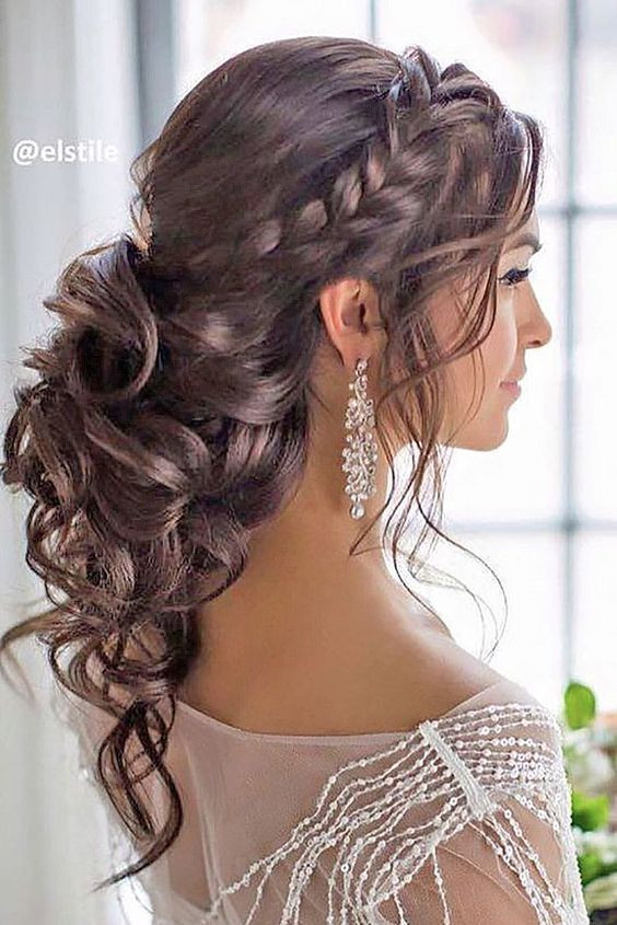 Best ideas about Prom Hairstyles Curly Down . Save or Pin 25 best ideas about Curly Prom Hairstyles on Pinterest Now.