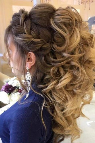 Best ideas about Prom Hairstyles Curly Down . Save or Pin 68 Stunning Prom Hairstyles For Long Hair For 2019 Now.