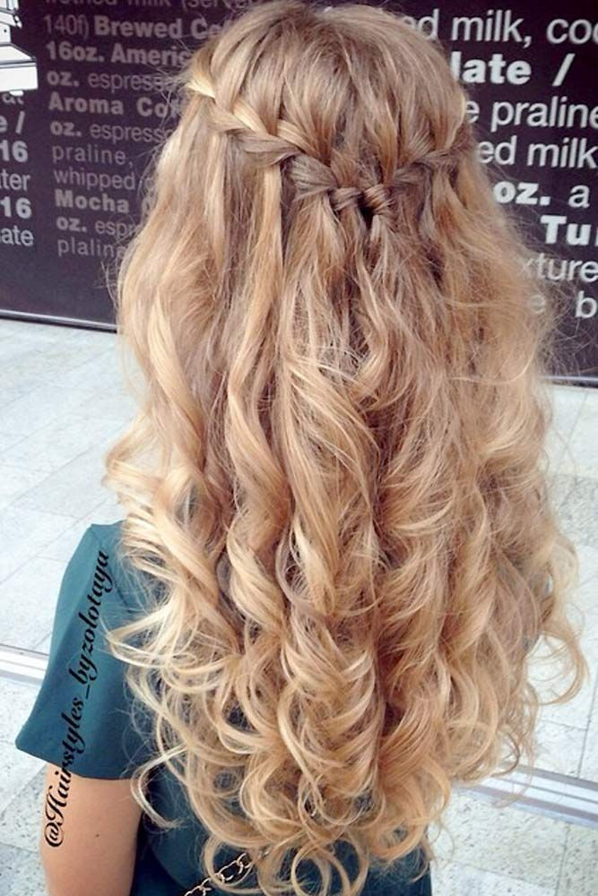 Best ideas about Prom Hairstyles For Curly Hair . Save or Pin 25 best ideas about Curly Prom Hairstyles on Pinterest Now.