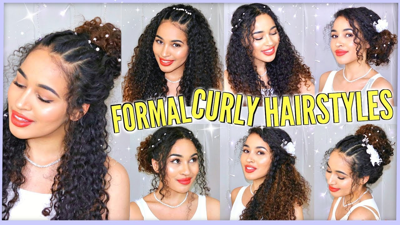 Best ideas about Prom Hairstyles For Curly Hair . Save or Pin 7 Best Curly Hairstyles for Prom Graduation Formals Now.