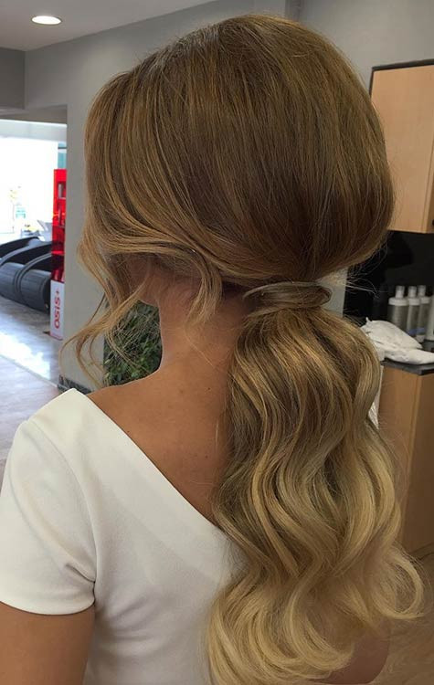 Best ideas about Prom Hairstyles Ponytail . Save or Pin 27 Gorgeous Prom Hairstyles for Long Hair Now.
