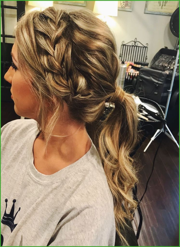 Best ideas about Prom Hairstyles Ponytail . Save or Pin Prom Hairstyles Ponytail to the Side Now.