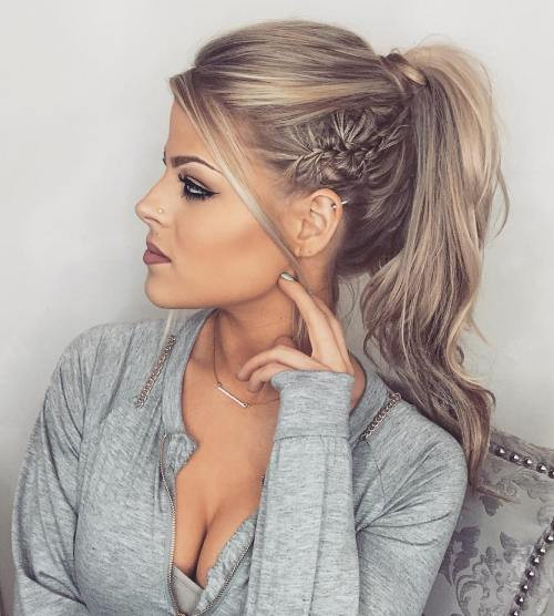 Best ideas about Prom Hairstyles Ponytail . Save or Pin 40 Updos for Long Hair – Easy and Cute Updos for 2017 Now.