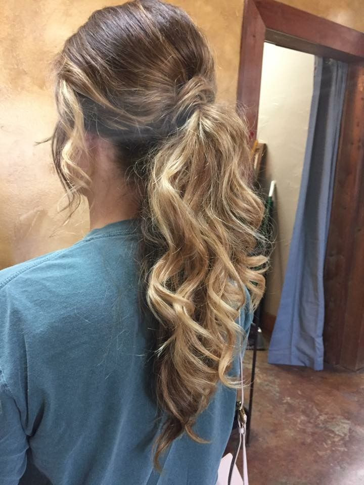 Best ideas about Prom Hairstyles Ponytail . Save or Pin Best 25 Dressy ponytail ideas on Pinterest Now.
