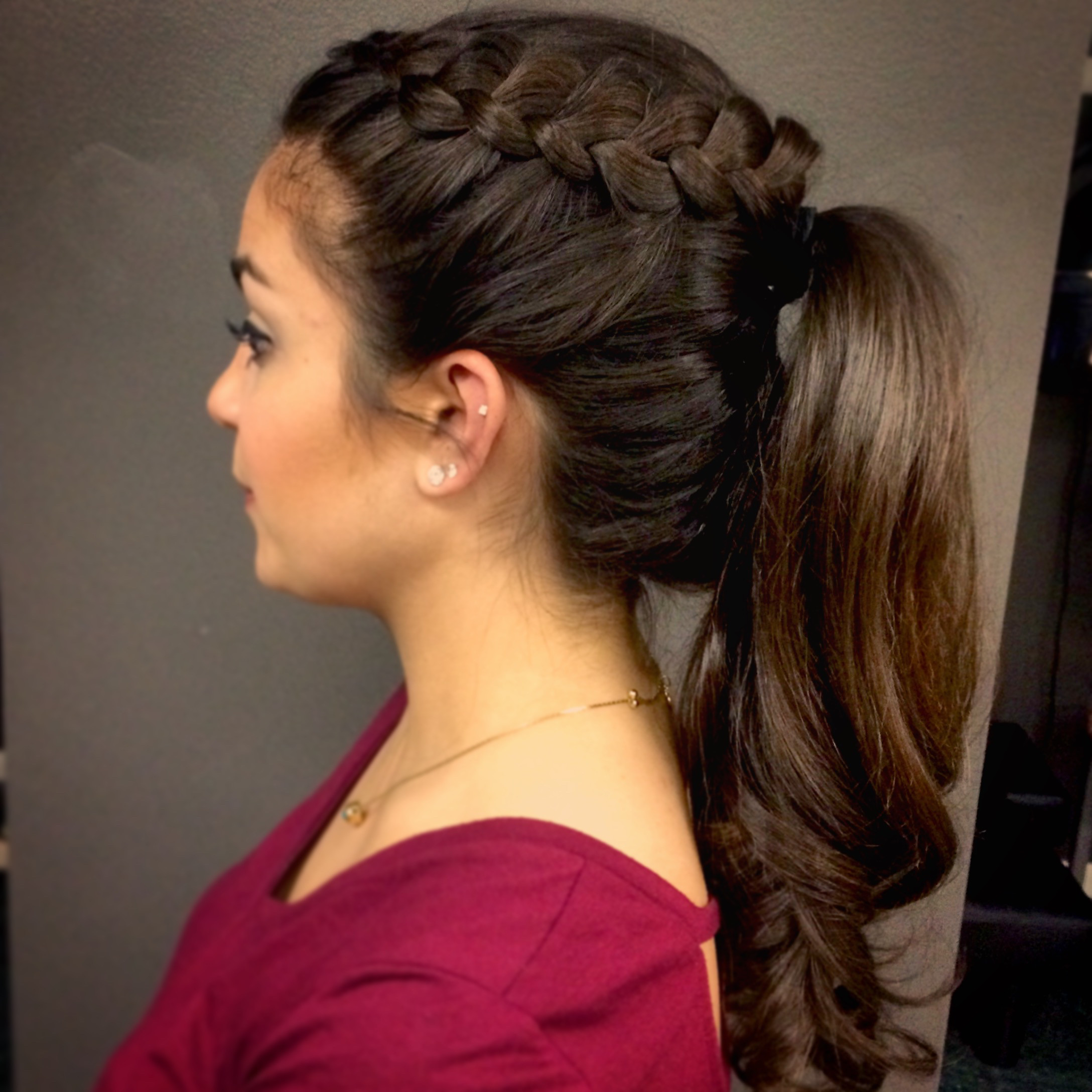 Best ideas about Prom Hairstyles Ponytails . Save or Pin Lexie Hair and Make Up Artist Now.