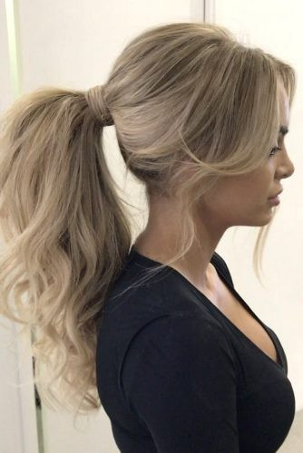 Best ideas about Prom Hairstyles Ponytails . Save or Pin 68 Stunning Prom Hairstyles For Long Hair For 2019 Now.
