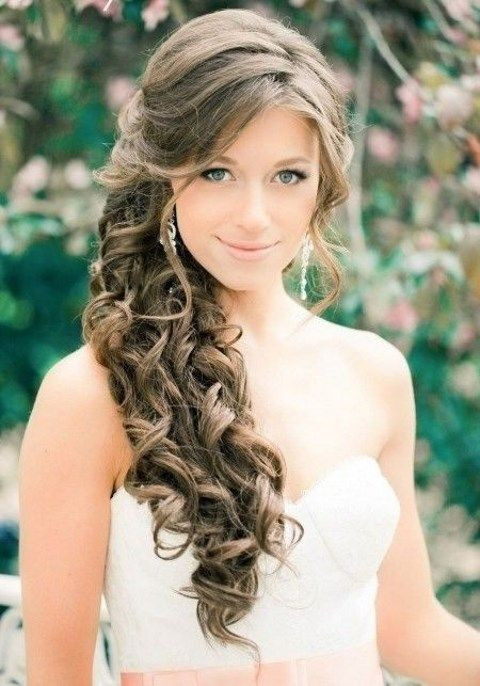 Best ideas about Prom Hairstyles To The Side . Save or Pin 25 best ideas about Side swept updo on Pinterest Now.