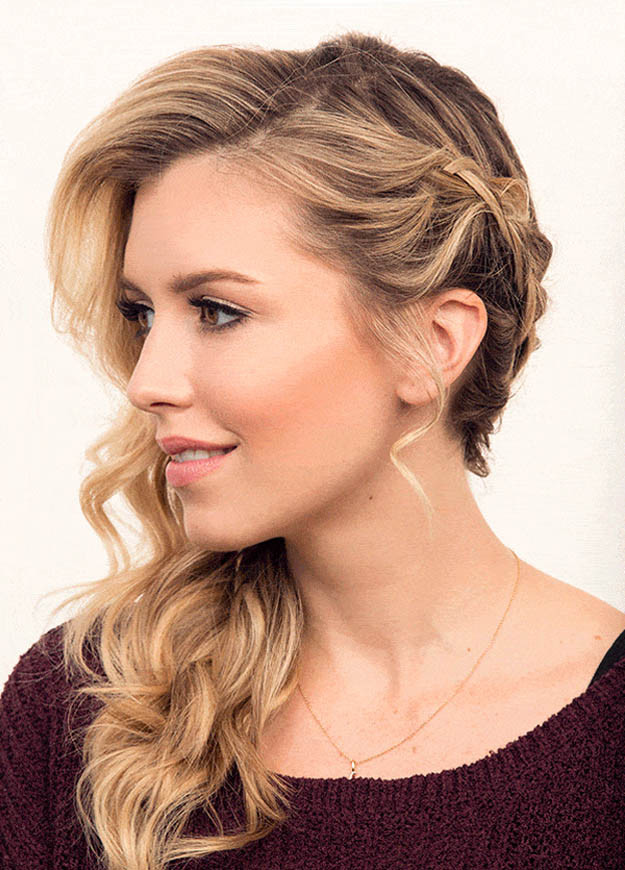 Best ideas about Prom Hairstyles To The Side . Save or Pin Hairstyles Now.