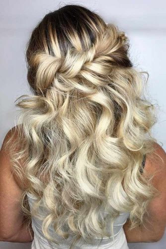Best ideas about Prom Half Up Half Down Hairstyles . Save or Pin Try 42 Half Up Half Down Prom Hairstyles Now.