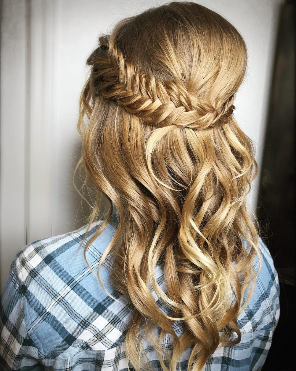 Best ideas about Prom Half Up Half Down Hairstyles . Save or Pin Half Up Half Down Prom Hairstyles and How To s Now.