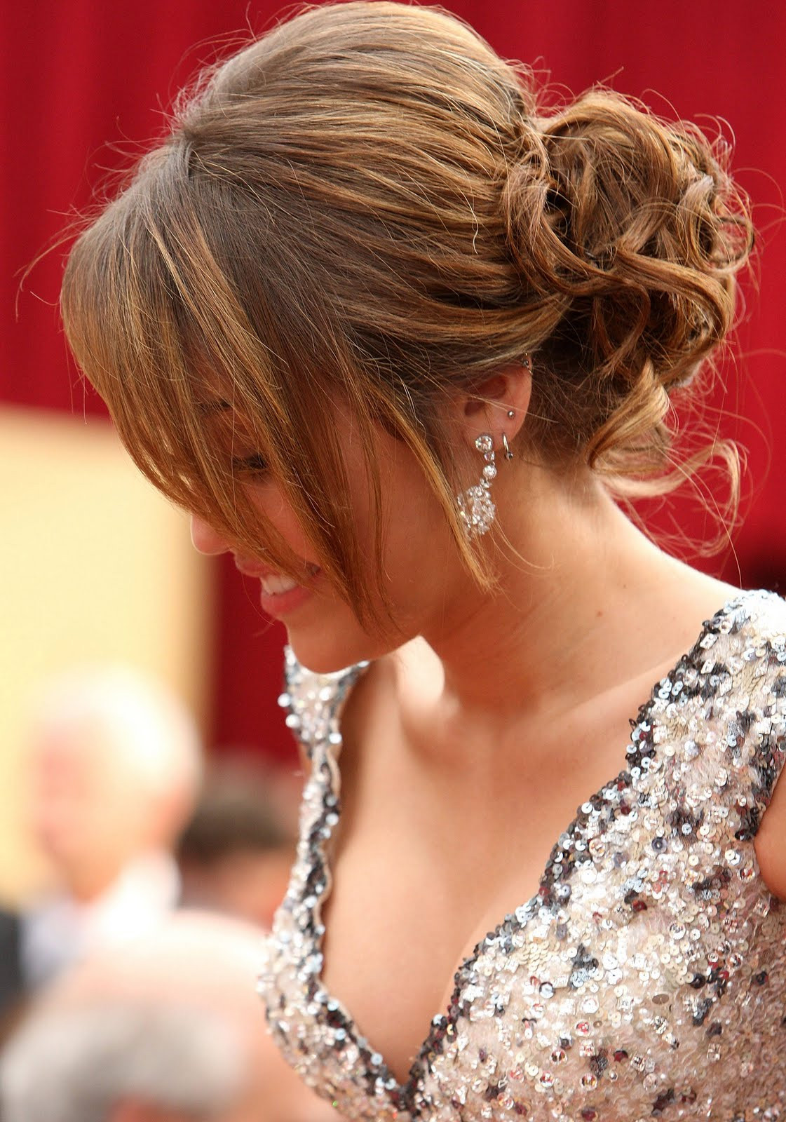 Best ideas about Prom Updo Hairstyles . Save or Pin 15 Cute Hairstyles For Prom 2014 Now.