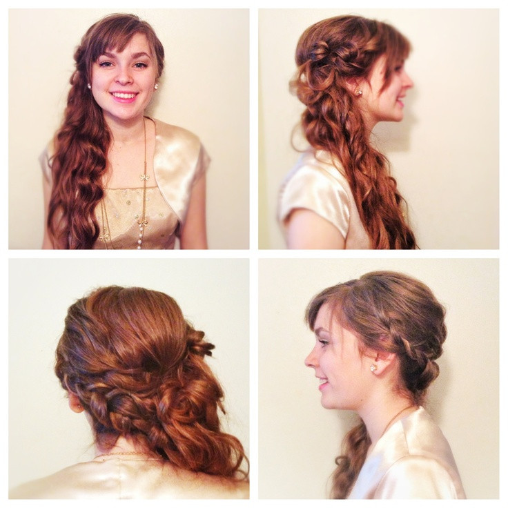 Best ideas about Promotion Hairstyles . Save or Pin 8th grade promotion picture day hair hairstyle Now.