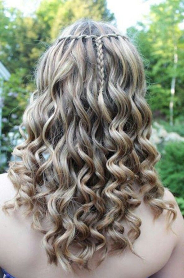 Best ideas about Promotion Hairstyles . Save or Pin My friends hair for her 8th grade promotion Now.