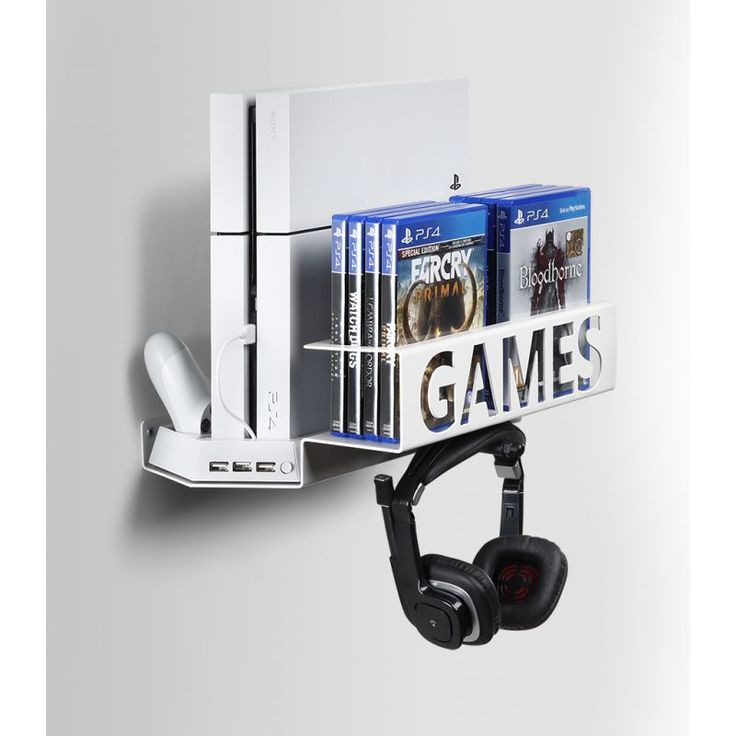 Best ideas about Ps4 Wall Mount DIY . Save or Pin 18 best Games Holder images on Pinterest Now.
