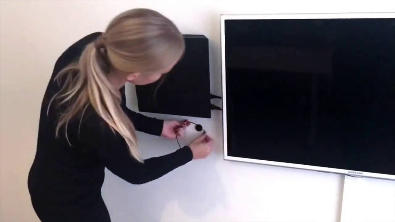 Best ideas about Ps4 Wall Mount DIY . Save or Pin PS4 Pro wall mount by FLOATING GRIP™ Tutorial video Now.
