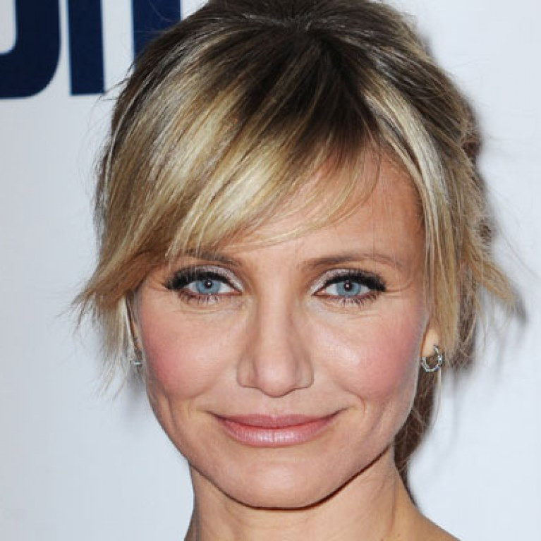 Best ideas about Pubic Hairstyles Female . Save or Pin Cameron Diaz Men should be allowed to unwrap your pubic Now.