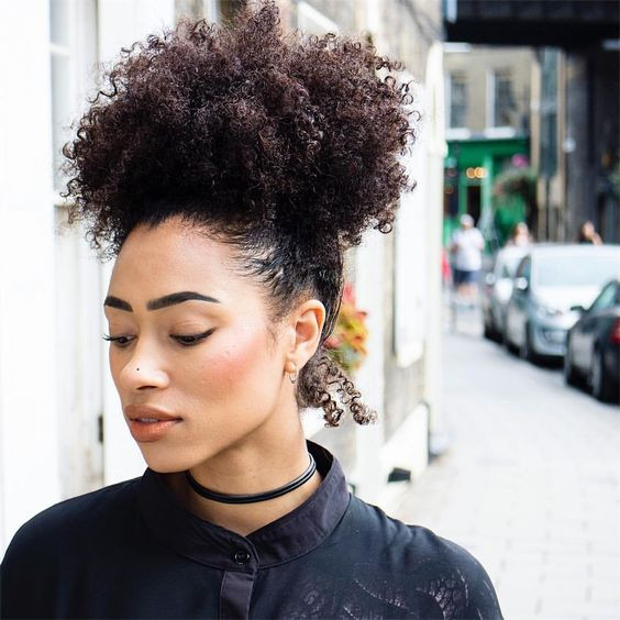 Best ideas about Puff Hairstyles For Natural Hair . Save or Pin See this Instagram photo by freshlengths • curly puff Now.