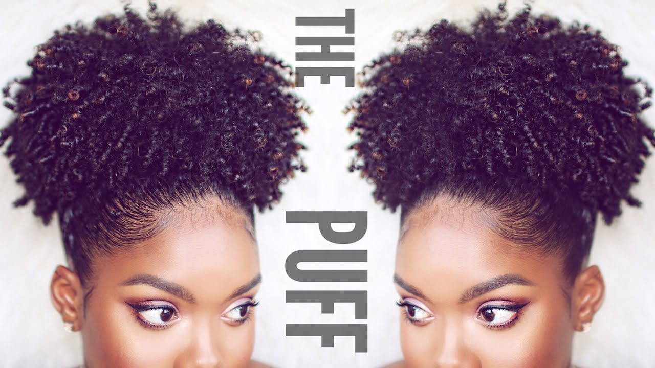 Best ideas about Puff Hairstyles For Natural Hair . Save or Pin How To Now.