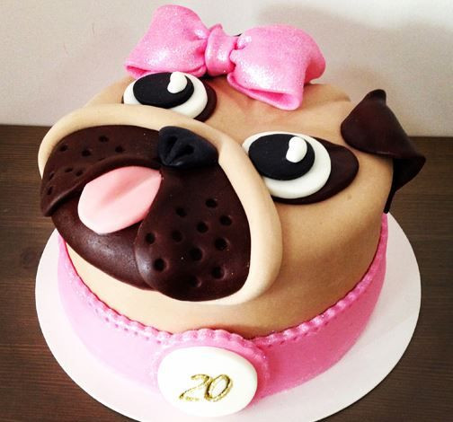 Best ideas about Pug Birthday Cake . Save or Pin Best 25 Pug cake ideas on Pinterest Now.