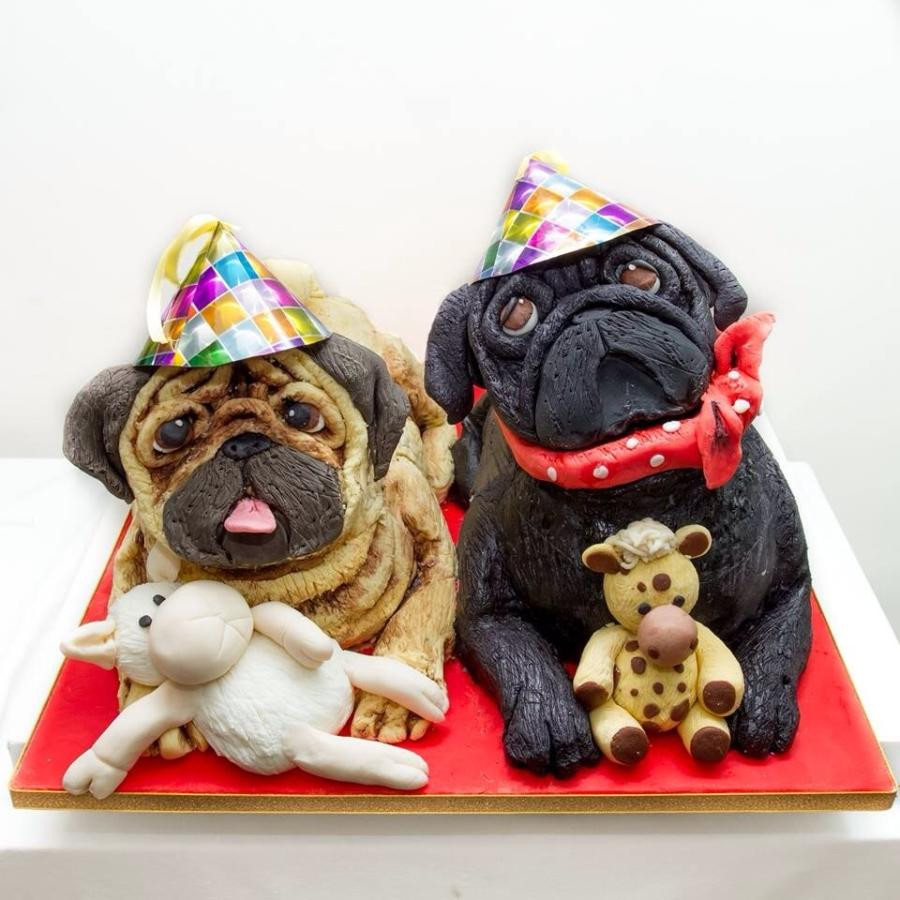 Best ideas about Pug Birthday Cake . Save or Pin Pug Cake cake by EleanorsCakes CakesDecor Now.