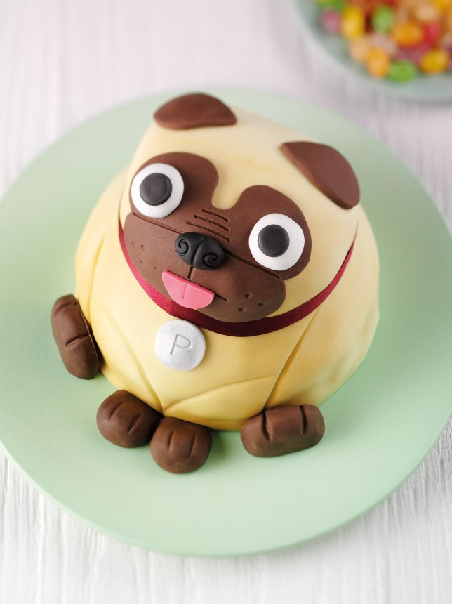 Best ideas about Pug Birthday Cake . Save or Pin Look at this adorable pug cake Now.